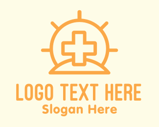 Christ - Sun Medical Center logo design