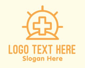 Medical Center - Sun Medical Center logo design
