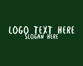 Lesson - Kindergarten School Wordmark logo design