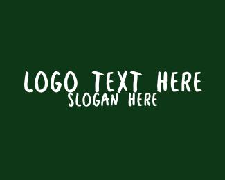 Kindergarten School Wordmark Logo