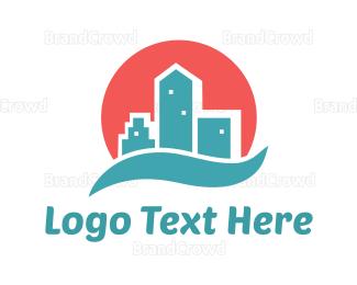 Broker - City Bay logo design