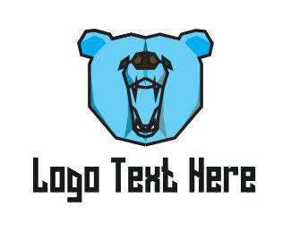 Sports - Wild Blue Bear logo design