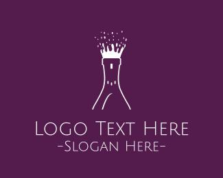 Grape - Wine Burst logo design