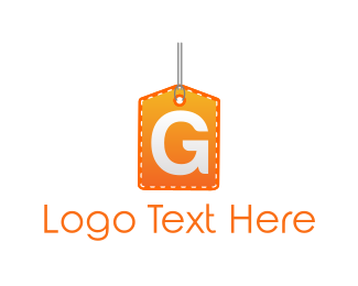 Coupon - Tag Letter G logo design