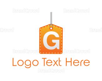 Letter G - Tag Letter G logo design