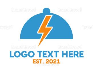 Cloche - Electric Cloche  logo design