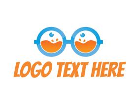 Geek - Fresh Juice Nerd logo design
