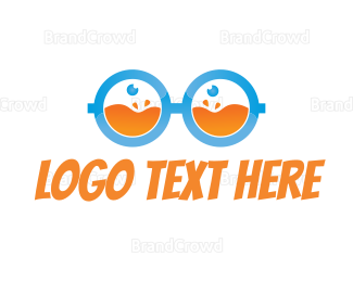 Smoothie - Fresh Juice Nerd logo design