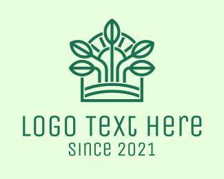 Morning - Morning Seedling Sprout logo design