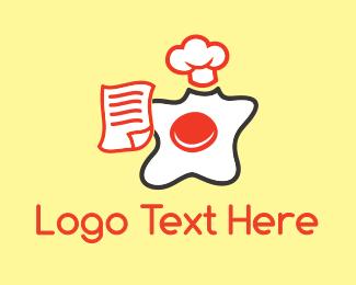 Chef Egg  Logo