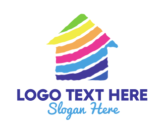 Properties - Colorful House logo design