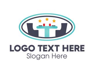 Yellow Star - Snack Bar logo design