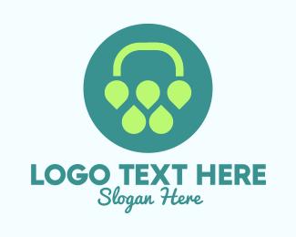 Tea Leaves - Abstract Plant Flower  logo design