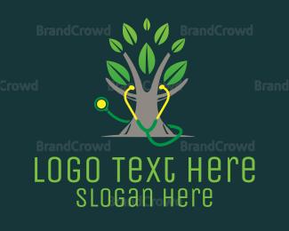 Rehab - Medical Tree logo design