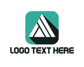 Egypt - White Pyramid logo design
