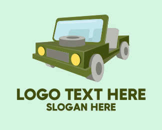 Jeep - Safari Jeep  logo design