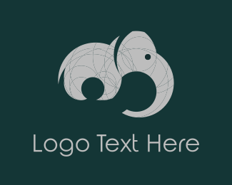 Grey - Grey Elephant  logo design
