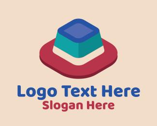 Perspective - 3D Jelly Dessert logo design