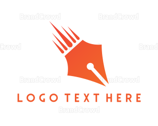 Meteor - Pen Meteor  logo design