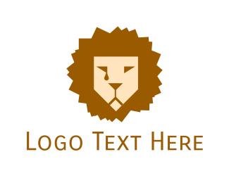 Africa - Lion Tears logo design