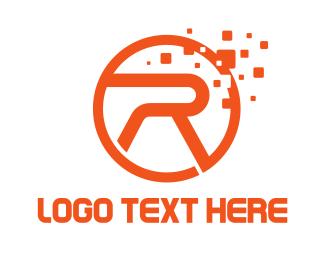 Letter R - Gaming Letter R logo design