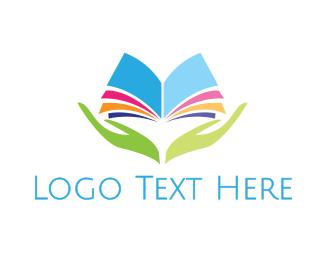 Read - Colorful Reader logo design