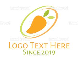 Cart - Mango Fruit  logo design