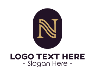 """""""Gold Serif Letter N"""" by Zdesign"""