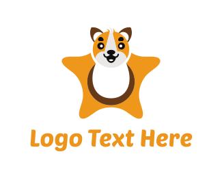 Little - Star Pet logo design