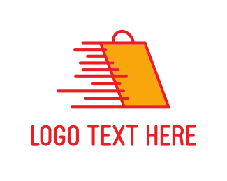 Shopping Bag - Fast Shopping logo design