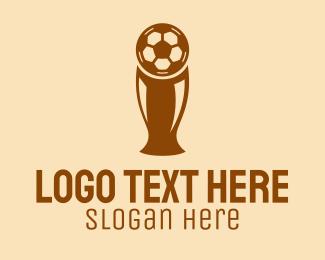 Triumph - Soccer Trophy Cup  logo design
