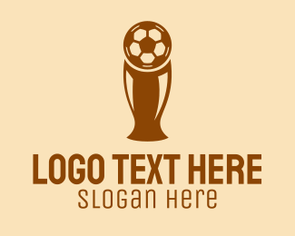 Prize - Soccer Trophy Cup logo design