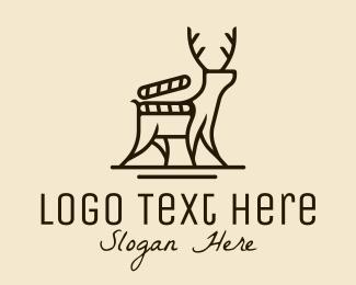 Documentary - Deer Nature Documentary logo design