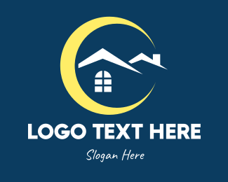 Night - Night Time Property logo design