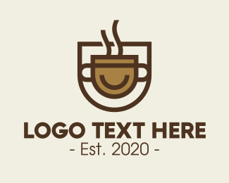 Coffe Shop - Brown Coffee Shop logo design