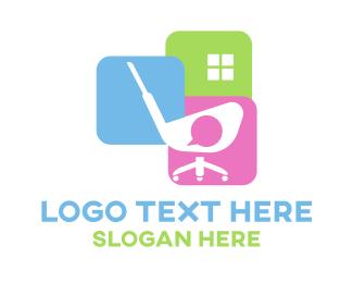 Office - Golf Office logo design