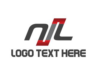 Letter L - Automotive N & L logo design