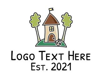 Children Daycare School Logo