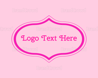 Lady - Princess Wordmark logo design
