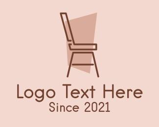 Interior Design - Minimalist Chair Design logo design