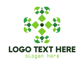 Clover - Four Leaf Clover logo design