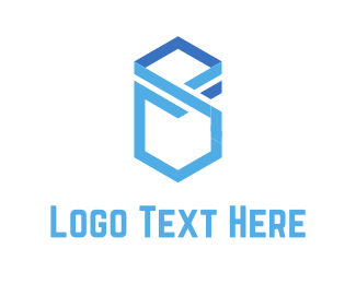 Business Consulting - Cubic Letter S logo design