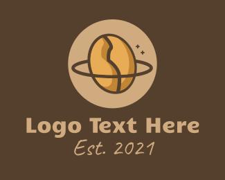 Restaurant - Coffee Bean Planet logo design