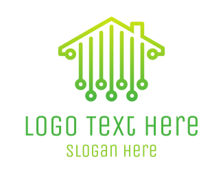 Technological - Digital House logo design
