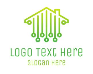 Roofing - Digital House logo design