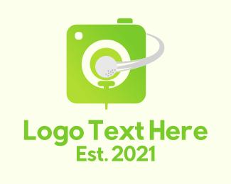 Photograph - Golf Sport Photographer logo design