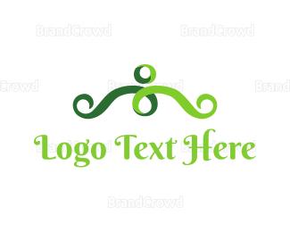 Sprout - Human Vine logo design