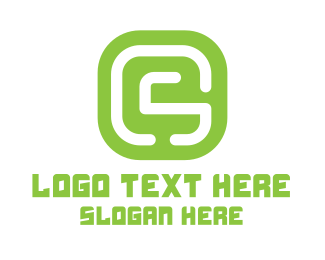 Gs - GS Green Icon logo design