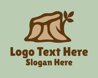 Trunk - Forest Tree Trunk logo design