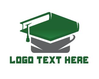 Phd - Graduation Book logo design